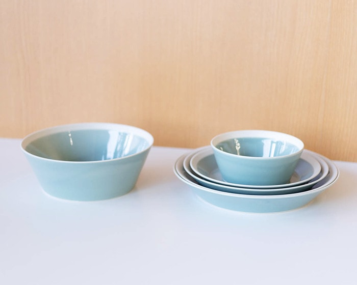 Pile up some plates and bowl by yumiko iihoshi porcelain