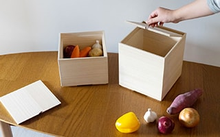 Wooden Vegetable Storage Boxes Keep Vegetables Fresh