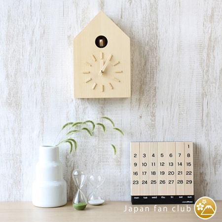 Japanese cuckoo clock fit natural interior
