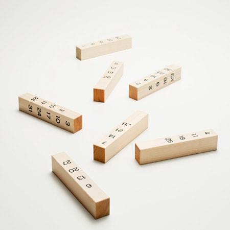 Japanese wooden perpetual calendar | Japan Design Store
