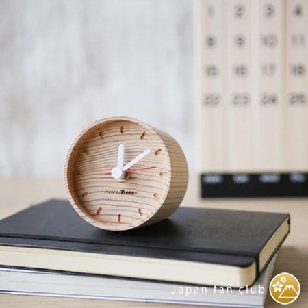 wooden table clocks fit various types of interior