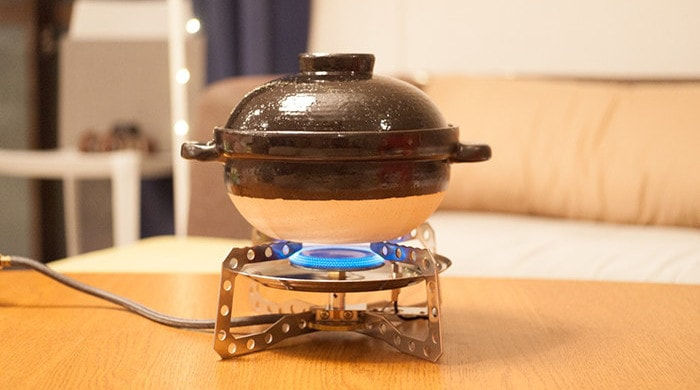 Heating donabe rice cooker Kamado-san
