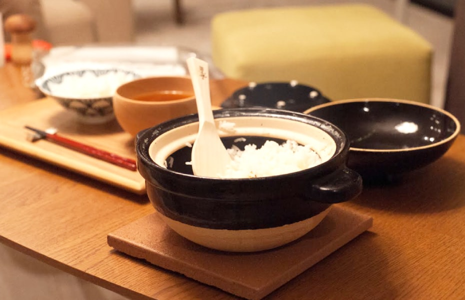 Donabe rice cooker Kamado-san from Nagatani-en