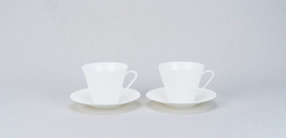 Bone china dinner set PULSE series from NIKKO