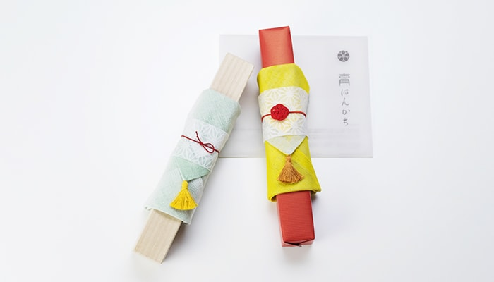 Image of Handkerchief wrapping of Japangarde fan