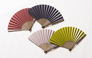 Stylish summer with Japanese hand fan Dai-furyo