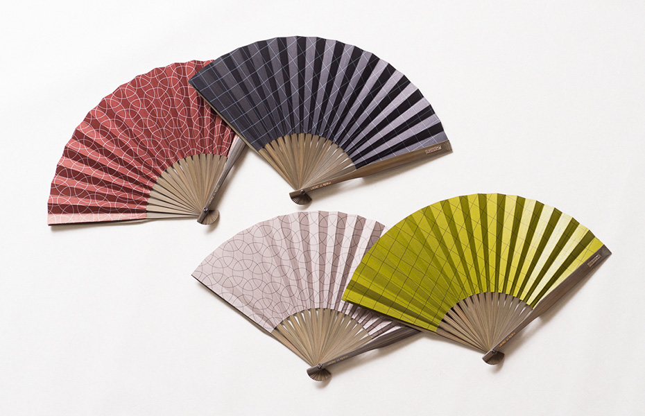 Japanese hand fan Dai-furyo for refined men