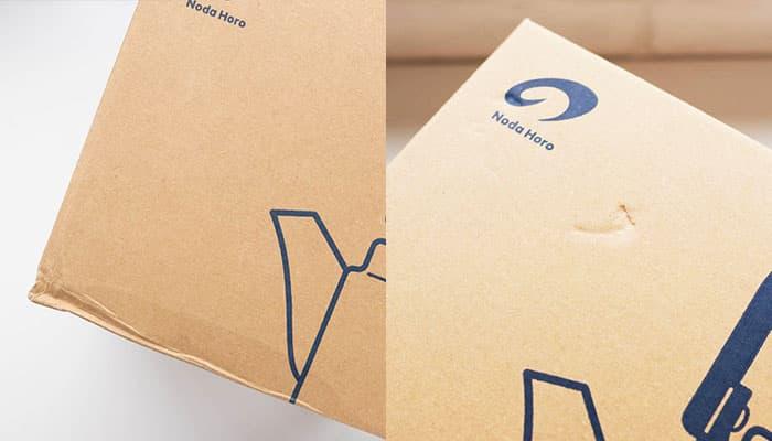 Craft box damage example