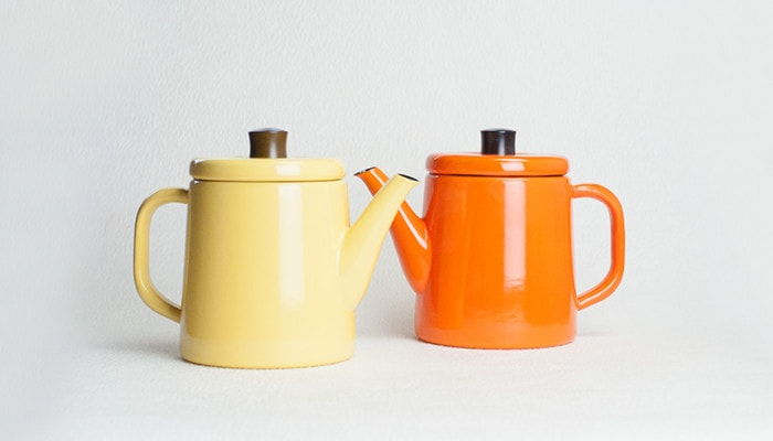 Yellow and Orange Pottle of Noda Horo