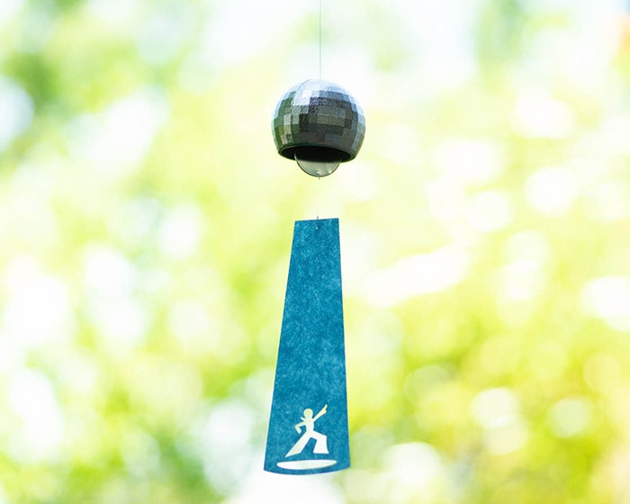 Unique design of slip of Disco ball wind chime