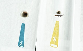 Funny design! Unique wind chimes from Nousaku