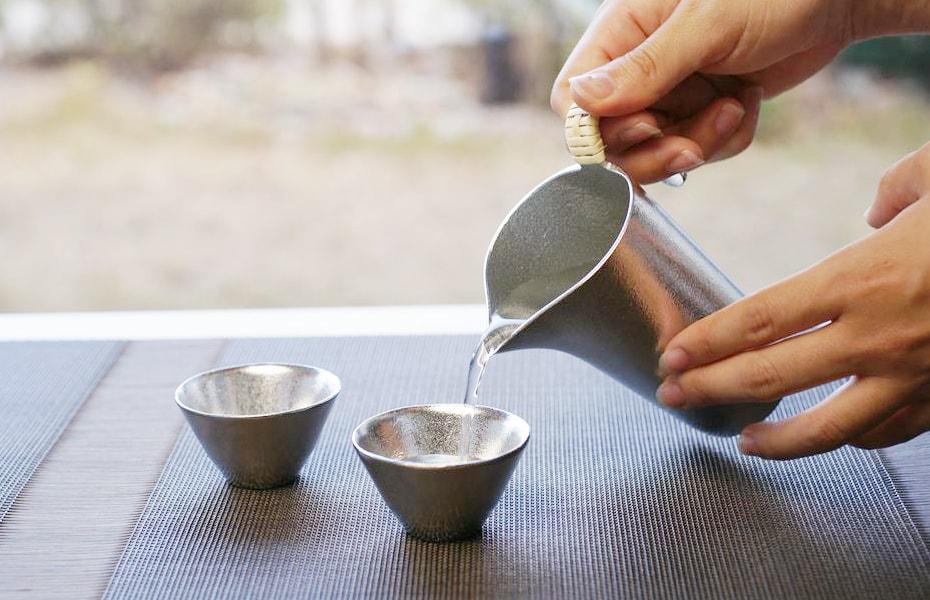 熱燗を美味しくする錫の酒器 能作のちろり