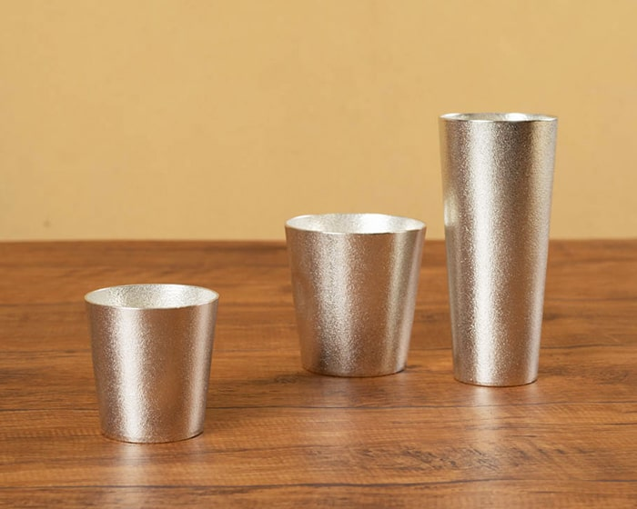 Nousaku 100% tin beer cup M