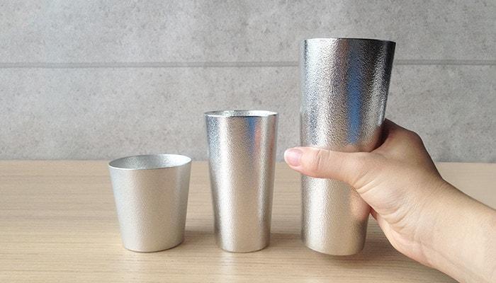 Nousaku 100% tin beer cup L
