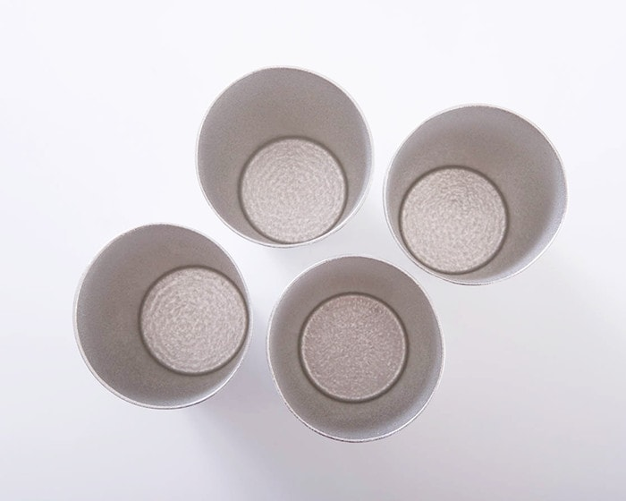 Different form of circle rim of beer cups from Nousaku