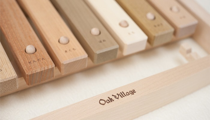 Logo of Oak Village of the children's xylophone