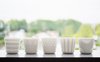 HONOKA Elegant white dishes