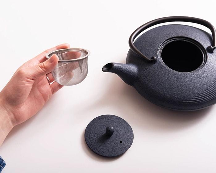 Rojiカラーティーポット月の茶こし