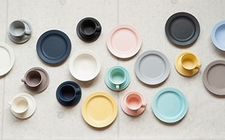 Colorful dinnerware DAYS! Daily useful Mino yaki