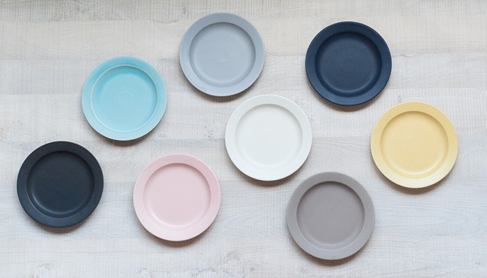 8 colors of plates of DAYS series