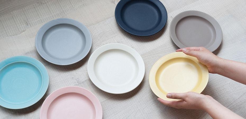 毎日楽しくカラーコーディネート!SAKUZAN DAYSのお皿