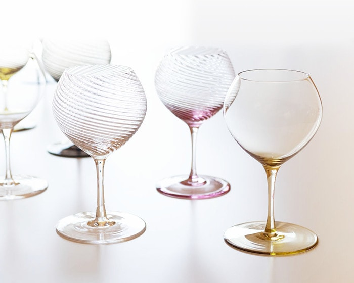 Wineglasses of Bueno from Sghr