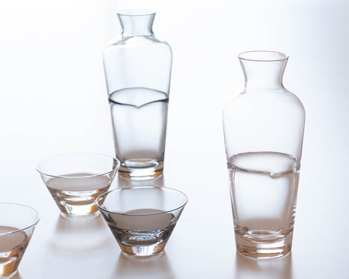 Sake glass set of duo series from Sghr