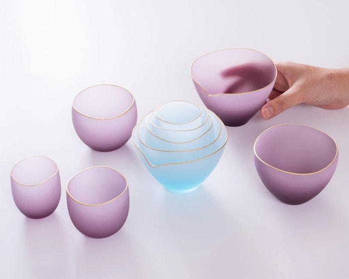 スガハラガラスの酒器グラスsaki