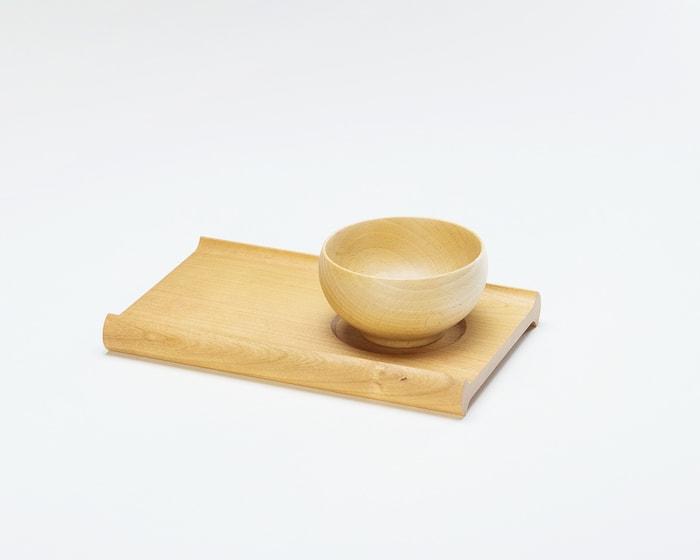 めいぼく椀とカフェトレーのセット