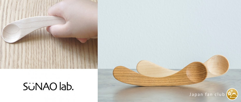 Wooden baby spoon Mukuri spoon of Sunao Lab