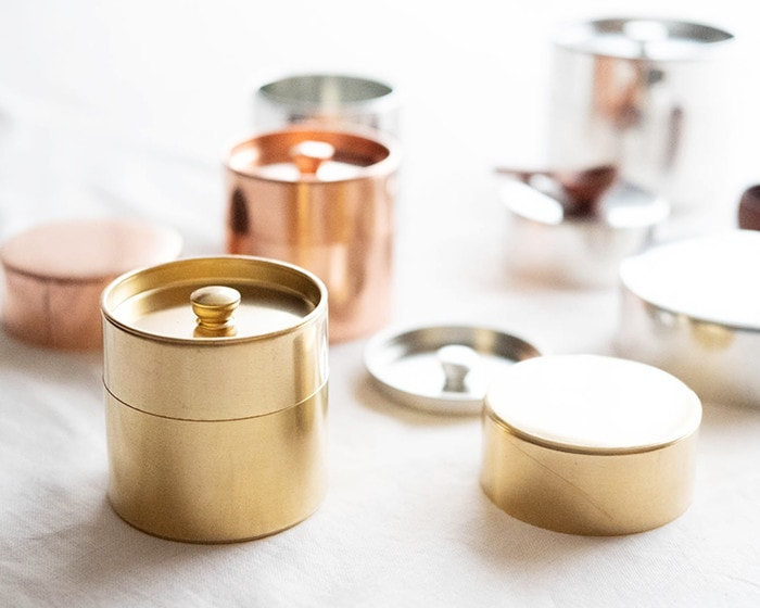 Brass tea caddy from SyuRo
