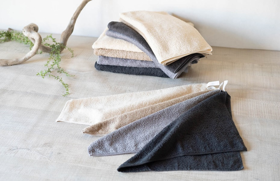 Organic cotton towels from SyuRo
