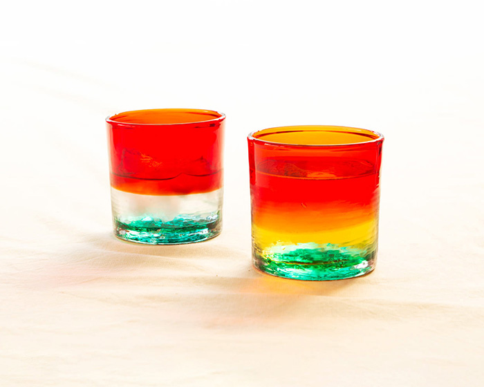 A pair of Sunset in Zanpa glasses