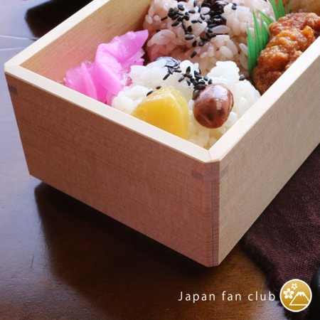 Traditional bento box of Wajima Kirimoto