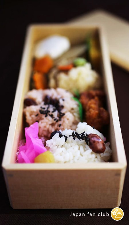 Japanese hiba bento box
