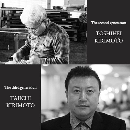 The Second Toshihei Kirimoto and the Third Taiichi Kirimoto