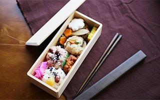 Japanese traditional bento box make your lunch time a little luxury
