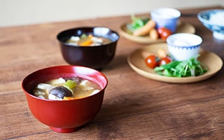 Eat Miso Soup with Authentic Japanese Lacquer Bowls