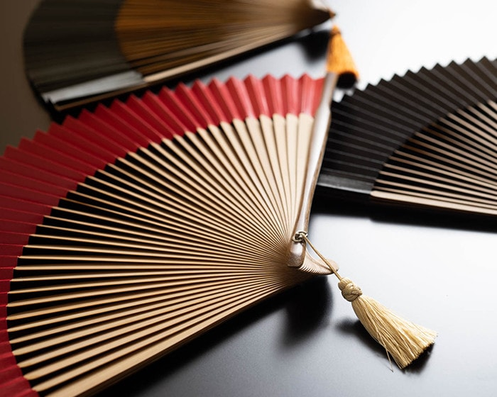 Bamboo sticks of hand fan from WDH