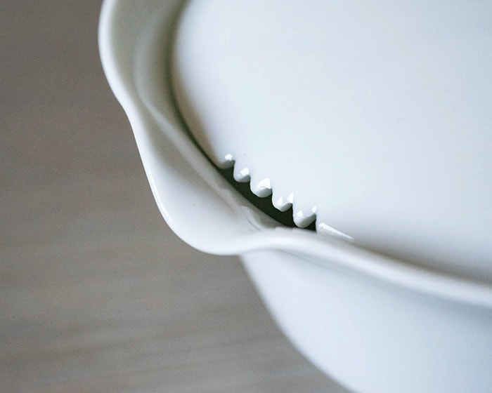 Convection between houhin teapot and lid