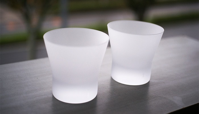 Japan Design Store recommends frosted Soko-atsu glass