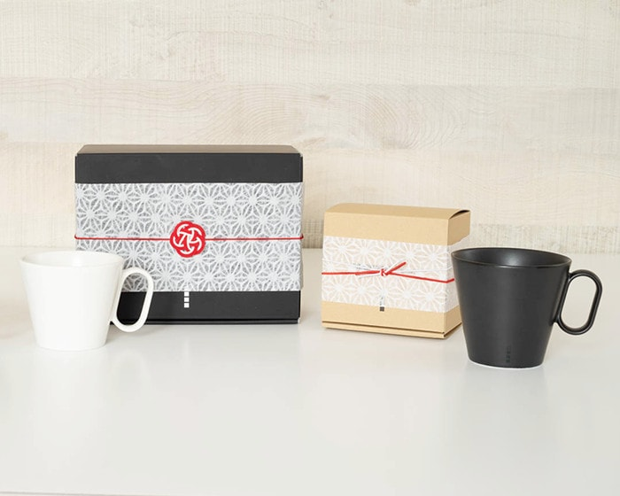 Exclusive box of Eternal mug with gift wrapping of Japan Design Store