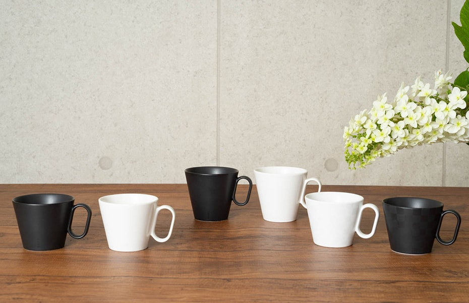 Japanese coffee mugs from Wired Beans