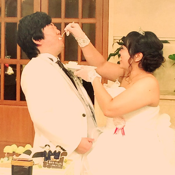 お客様の結婚式のご様子