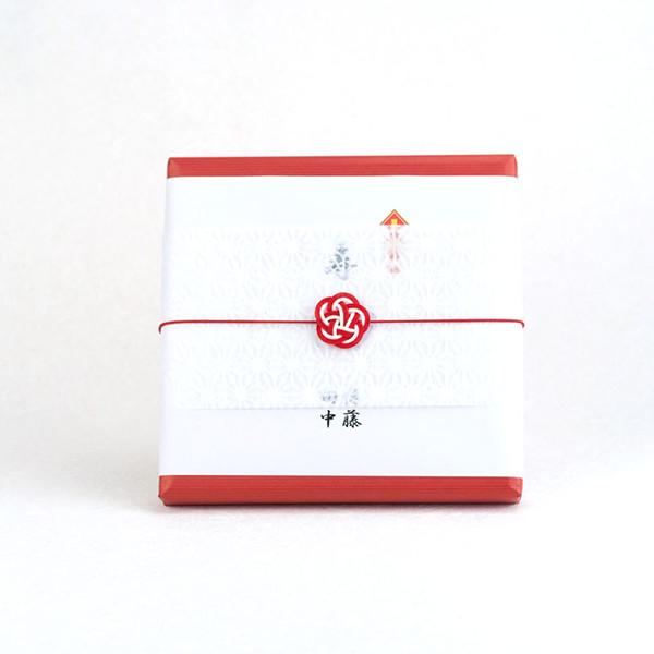 のしと和紙掛紙と梅水引(包装紙あり)のイメージサンプル