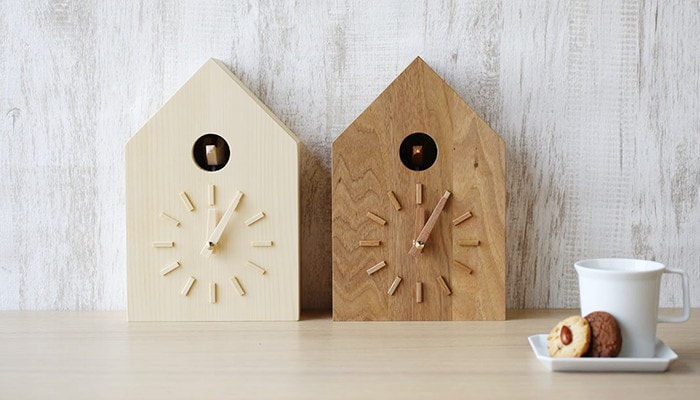 Modern cuckoo clock from more trees