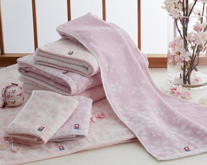 さくら紋織タオル