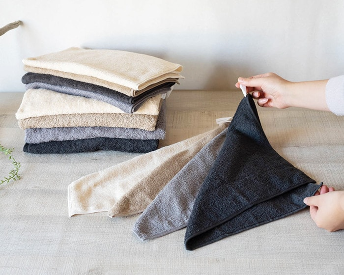 Organic bath towels and hand towels from SyuRo