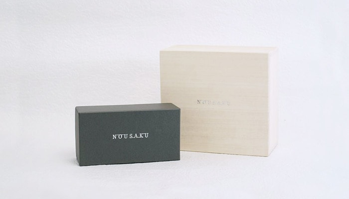 Paulownia box and exclusive box of Nousaku