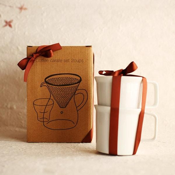 クールなコーヒーセットイメージ